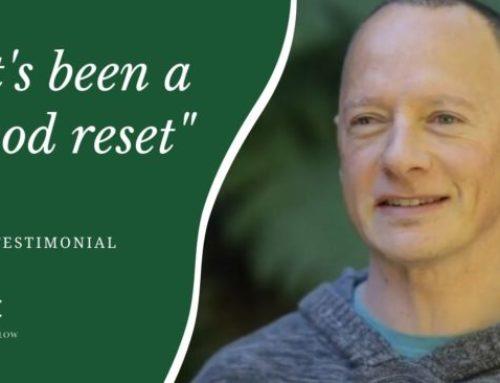 It's been a good reset   Ben Testimonial
