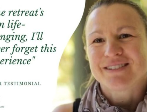 The retreat's been life-changing, I'll never forget this experience | Fleur Testimonial