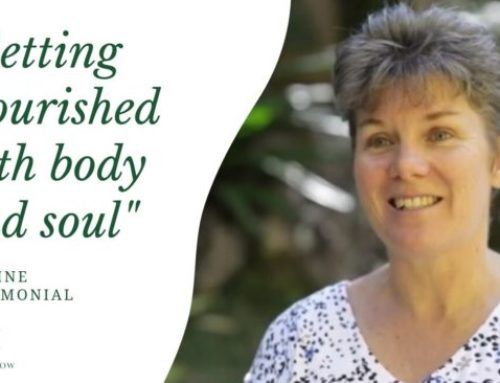 Getting Nourished both body and soul | Pauline Testimonial